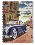 Mercedes 300 Sl Spiral Notebook
