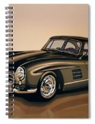 Mercedes Benz 300 Sl 1954 Painting Spiral Notebook