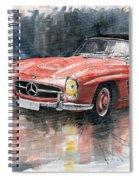 Mercedes Benz 300sl Spiral Notebook