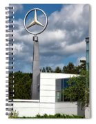 Mercedes - Benz Plant Spiral Notebook