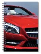 Mercedes Benz Sl Spiral Notebook
