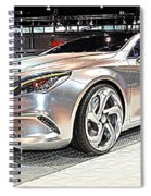 Mercedes Benz Style Coupe Concept Number 2 Spiral Notebook