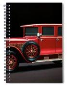 Mercedes-benz Typ 300 Pullman Limousine 1926 Painting Spiral Notebook