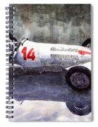 Mercedes Benz W 125 1937 Swiss Gp R Caracciola Spiral Notebook