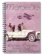 Mercedes Daimler C. 1910 Spiral Notebook