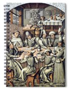 Merchants Paying Taxes Spiral Notebook