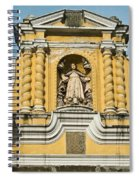 Mercid Church Antigua Guatemala Spiral Notebook