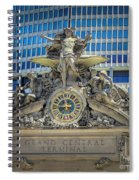 Mercury At Grand Central Terminal Spiral Notebook