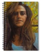 Meredith In Autumn Spiral Notebook