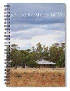 Meriti Cottage Spiral Notebook