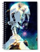 Merlin In The Cosmos Spiral Notebook