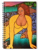 Mermaid And Friends Spiral Notebook