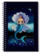 Mermaid Art- Mermaid's Pearl Spiral Notebook