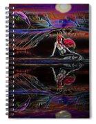 Mermaid Daydream  Spiral Notebook