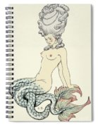 Mermaid, From Les Liaisons Dangereuses  Spiral Notebook