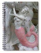Mermaid In Pink Spiral Notebook
