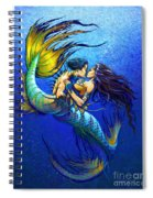 Mermaid Kiss Spiral Notebook