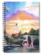 Mermaid Lagoon Spiral Notebook