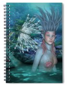 Mermaid Of The Deep Sea 2 Spiral Notebook