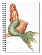 Mermaid Shell Spiral Notebook