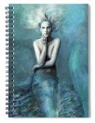 Mermaid Water Spirit Spiral Notebook