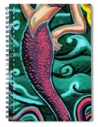 Mermaid With Pearl Spiral Notebook