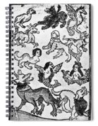 Mermaids, 1475 Spiral Notebook