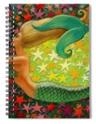 Mermaid's Circle Spiral Notebook