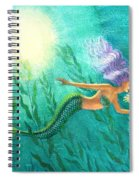 Mermaid's Garden Spiral Notebook