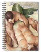 Merman Rescue Spiral Notebook