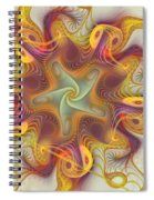 Merriment Of Color Spiral Notebook
