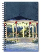 Merry And  Bright II Spiral Notebook