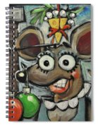 Merry Chrismouse Spiral Notebook