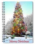 Merry Christmas 2015 Spiral Notebook