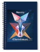 Merry Christmas - 2017 Spiral Notebook