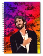 Merry Christmas Josh Groban Spiral Notebook