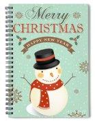 Merry Christmas-jp2766 Spiral Notebook