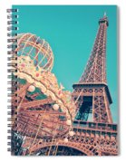 Merry Go Paris Spiral Notebook