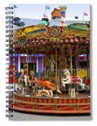 Merry-go-round At The Prater Spiral Notebook