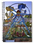 Merry Wheel Spiral Notebook