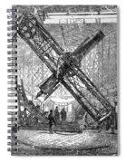 Merz Telescope, Royal Observatory Spiral Notebook