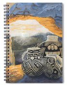 Mesa Arch Magic Spiral Notebook