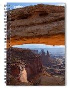 Mesa Arch Morning Glow Spiral Notebook