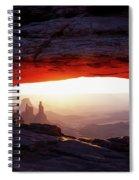 Mesa Arch Sunrise 4 Spiral Notebook