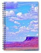 Mesa At Vermilion Cliffs Spiral Notebook