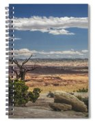 Mesa View In Utah Spiral Notebook