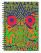 Mesmerizing Owl Spiral Notebook