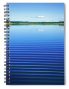 Mesmerizing Ripples Spiral Notebook