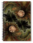 Mesmerizing World Spiral Notebook