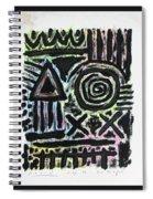 Mesomorph Spiral Notebook